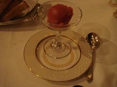 Sorbet...Intermediate dinner! (evilangel009) Tags: food newyearseve emile dinnernewyearseve