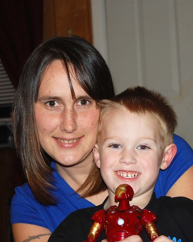 mom's new haircut and jake by you.
