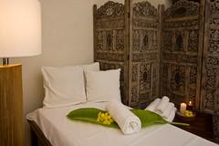 Beds at the Villa Crisanta Spa