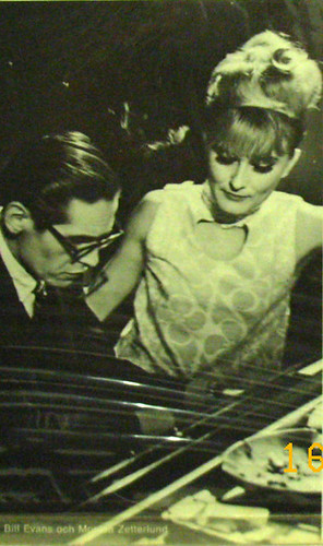 Monica with Bill Evans