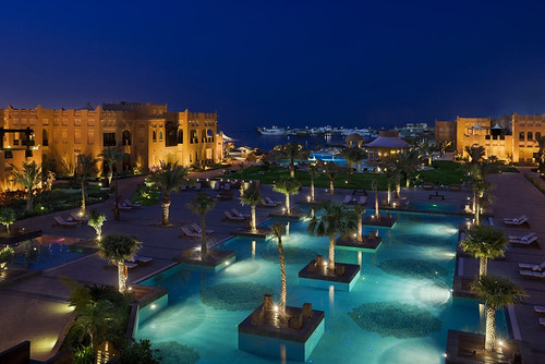 Sharq illage and Spa at night
