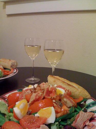 salad niçoise w/tuna