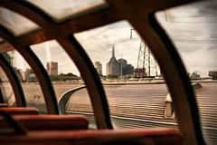 Train'd Eye View of Nashville (crashmattb) Tags: train nashville bokeh tennessee passengercars canonef50mm18ii canoneosdigitalrebelxti tennesseecentralrailwaymuseum