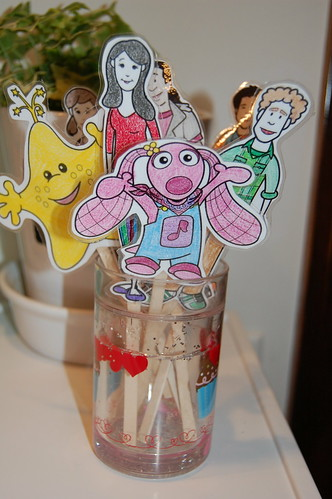 WIP: Sprout's Preschool Musical... On a Stick