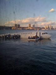 US Airways Plane Crash & Rescue