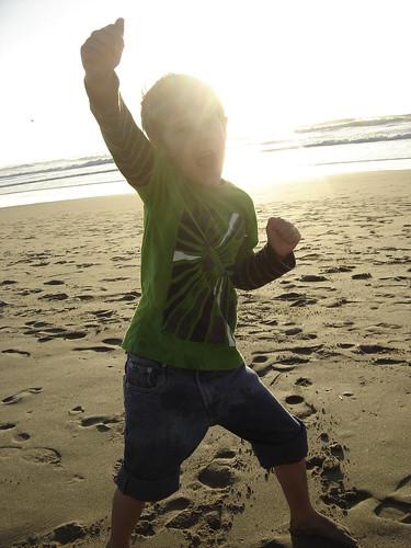 beach kung fu