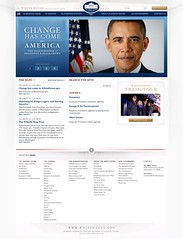 Whitehouse.gov, Jan 20, 2009