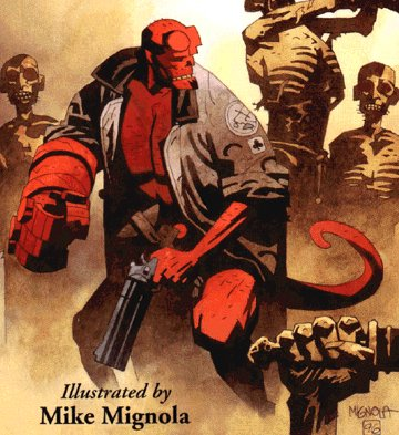 Hellboy by Dark Horse
