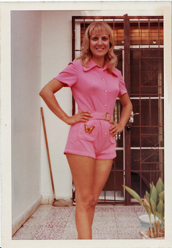 My Mom in Hot Pants