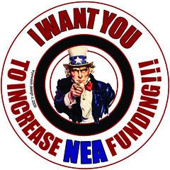 I want YOU to INCREASE NEA