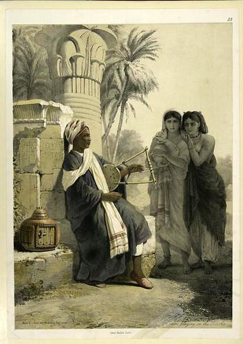 Bereber tocando la Kisirka (1851)
