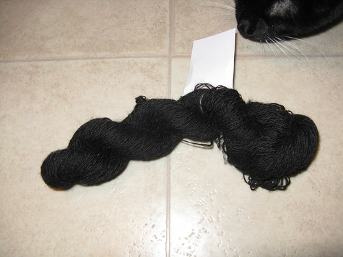 Black alpaca lace