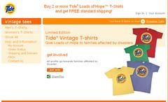 Tide T-shirts