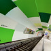 Warped Tunnel with Green and White Tiles von yushimoto_02 [christian]