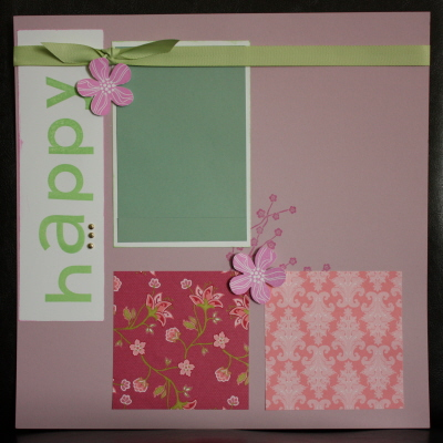 Celebrate Scrapbooking pg1