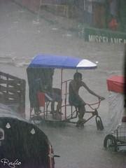 bicitaxi (rubioquilla) Tags: water rain bike lluvia agua bicicleta arroyo mojado rubio barranquilla quilla