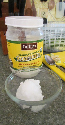 Solid Coconut Oil