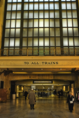 ...to all trains. Chicago, IL