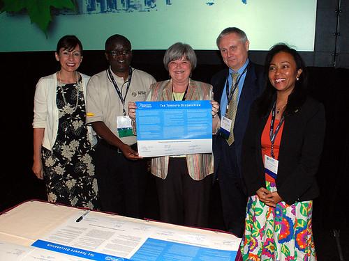 Toronto Declaration, 2008