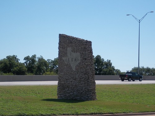 Welcome to Texas sign, Wichita Falls, Texas by fables98