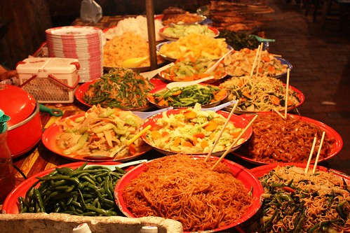 $1.25 Buffet in Luang Prabang