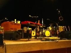 Bare stage, Wolverhampton for Fleet Foxes (roberthaymoncollins) Tags: fleetfoxes robinpecknold
