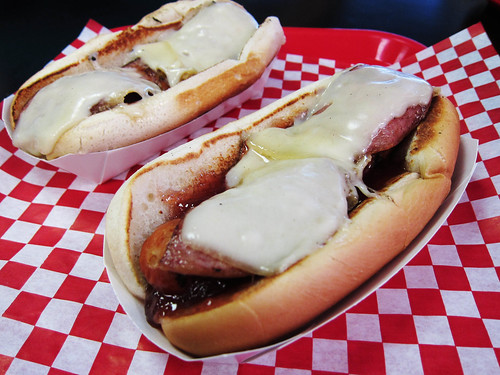 Hot Dog Sampling at Fab Hot Dogs
