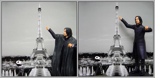Professer Snape in Paris