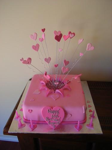 Exploding Birthday Cake