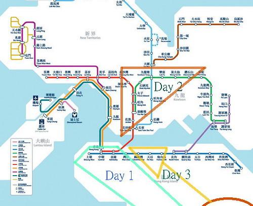 香港地鐵圖