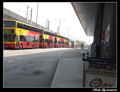 香港機場巴士站