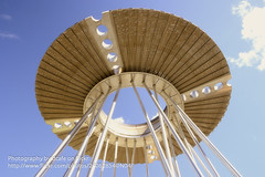 UFO Landing (dcafe) Tags: park olympic cauldron olympicpark sydneyolympicpark theoverflow