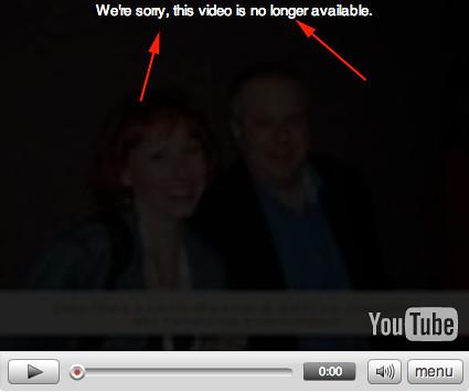 YouTube iMovie Issue