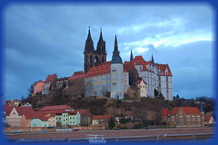 Meissen, Castle and Cathedral (Tobi_2008) Tags: castle river germany deutschland town cathedral dom sachsen stadt fluss allemagne elbe germania burg meissen cubism albrechtsburg blueribbonwinner mywinners abigfave anawesomeshot isawyoufirst diamondclassphotographer theunforgettablepictures excapture theperfectphotographer worldwidelandscapes llovemypic absolutelystunningscapes