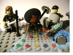 Guitar Hero LEGO (Battledog) Tags: