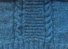 march sweater detail