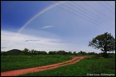 Presente de Deus (Carlos Olimpio - Malino) Tags: arcoiris cores fortes natureza cear stio fios caminho nkon 18135 d40 vibrantes tiobenedito