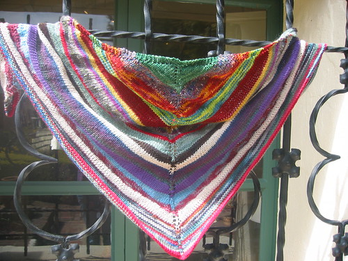 Leftover Shawl