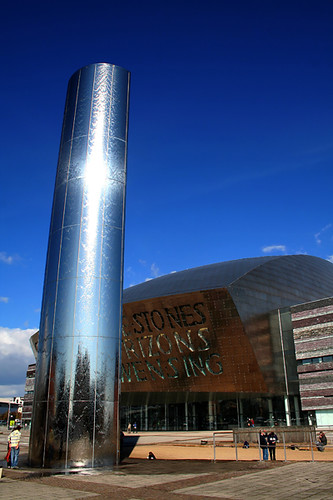 Millennium Centre Cardiff / Anthony Thomas