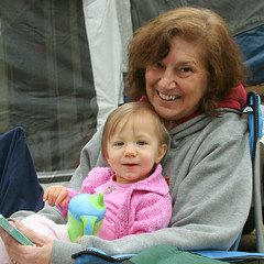 Emily on Grandma's Lap
