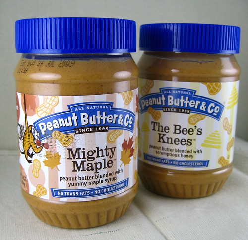 maple and bees knees peanut butter