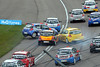 Clio Cup #6 (glediator) Tags: car race speed track crash accident spin engine competition clio damage incident circuit collision rockingham rockinghammotorspeedway renaulcliocup