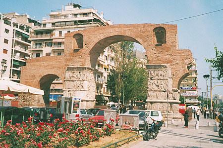 Arco de Galerio, Salónica, Macedonia, Grecia