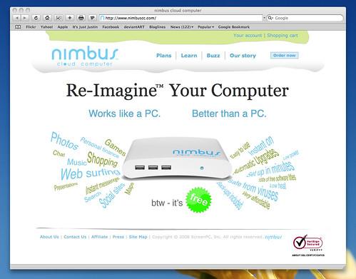 Nimbus Cloud Computer