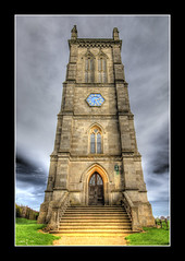 St John The Baptist Church, Kings Norton (Lord Muttley McFester) Tags: tower church leicestershire hdr kingsnorton stjohnthebaptist 3xp hdraward towerviewfront