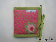 Porta Absorvente Algodo Verde 1 (Com Capricho) Tags: pink verde green arte handmade flor feitomo artesanal rosa craft felt feltro florzinha capricho absorvente portaabsorvente comcapricho