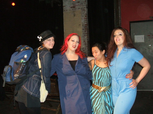 Pinkie, Dirty, Fancy and Darlinda all in Blue!