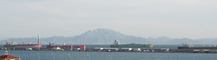 Tanker jam in the Straits (floodlights and a teabar dot com) Tags: morocco gibraltar strait tankers