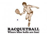 Racquetball - BustedTees