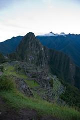 Machu Picchu before sunrise